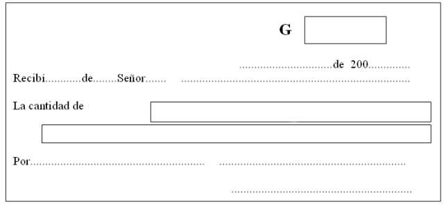 Cómo hacer un recibo de pago: modelos de recibo